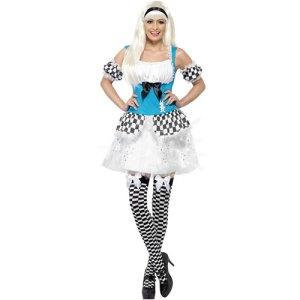 Costume femme Alice lumineuse