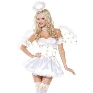 Costume femme cœur angélique