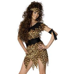 Costume femme des cavernes Préhistoire