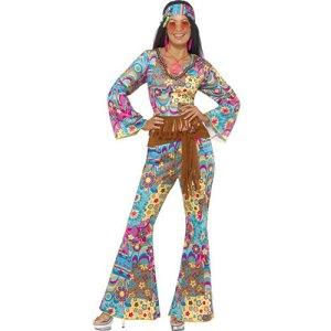 Costume femme hippie flower power
