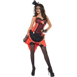 Costume femme Madame pêche burlesque