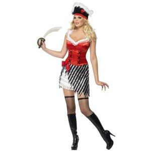 Costume femme pirate aventurière