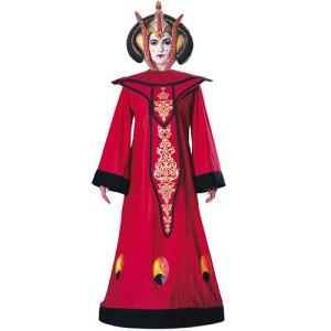 Costume femme queen Amidala Star Wars luxe