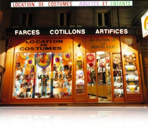 Location de déguisement - Au Clown de la République, Paris