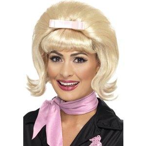 Perruque années 50 blonde