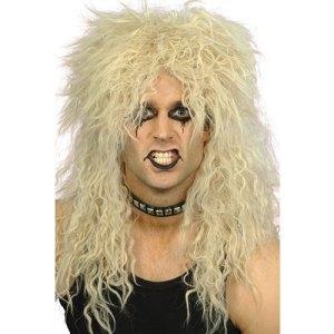 Perruque hard rock blonde