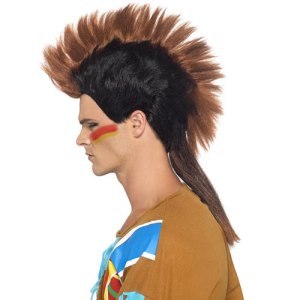 Perruque tribu Mohican