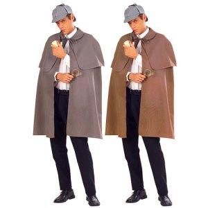 Cape détective Sherlock Holmes
