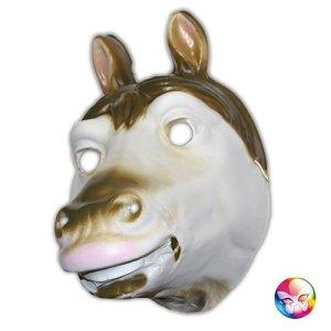 Masque plastique rigide cheval adulte