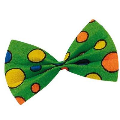 Noeud papillon vert clown