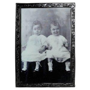 Cadre holographique petites filles