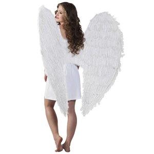 Ailes géantes plumes blanches