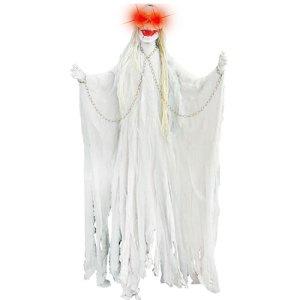 Squelette blanc lumineux 160cm