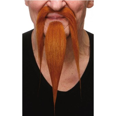Moustache barbe luxe chinois rousses