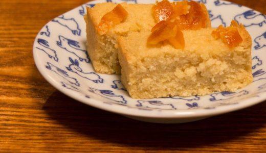 おからと米粉さえあれば、たいがいのケーキ類は作れる。