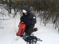 Alan George - winter - 2 - snow - mountain safety - filming - film, tv and media safety specialists - Location Safety ltd