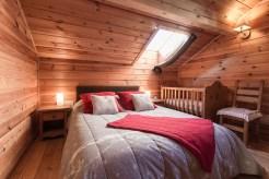 chambre chalet Saint Gervais