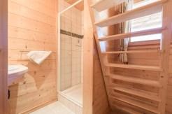 salle de douche appartement Saint Gervais