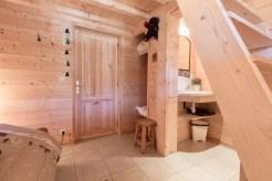 Chambre avec salle de douche appartement location Saint Gervais