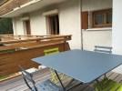 terrasse appartement 5 personnes Contamines Montjoie