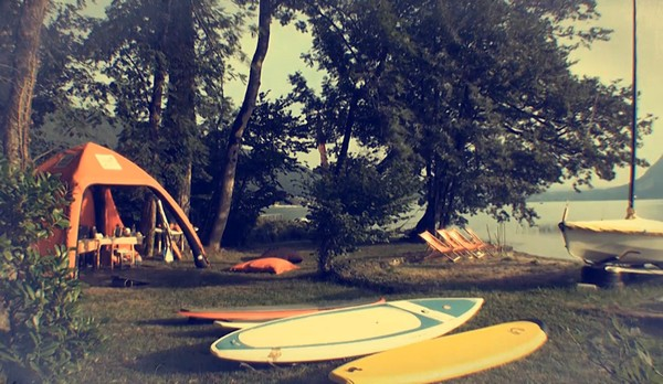 NCY SUP CENTER location stand up paddle annecy