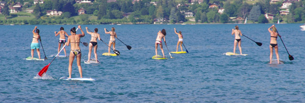 stand up paddle tarifs groupes annecy