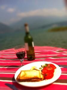 formule déjeuner bord du lac annecy stand up paddle