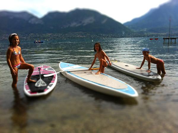 initiation gratuite au stand up paddle pour les enfants