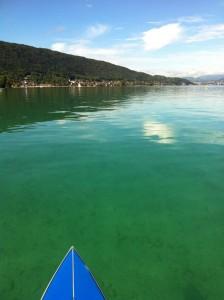 Le lac d'Annecy en octobre