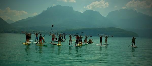Séminaires entreprises annecy stand up paddle