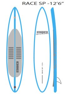AIO stand up paddle Race gonflable