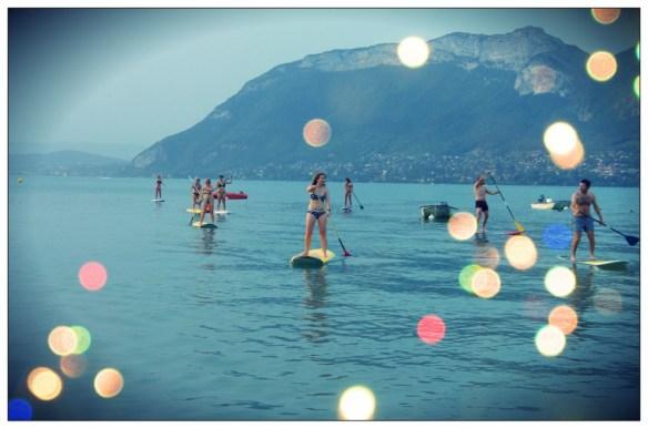 Rando BBQ paddle lac d'Annecy