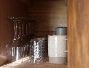 aménagement bois brut tiny house