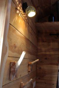 porte manteau bois fait maison
