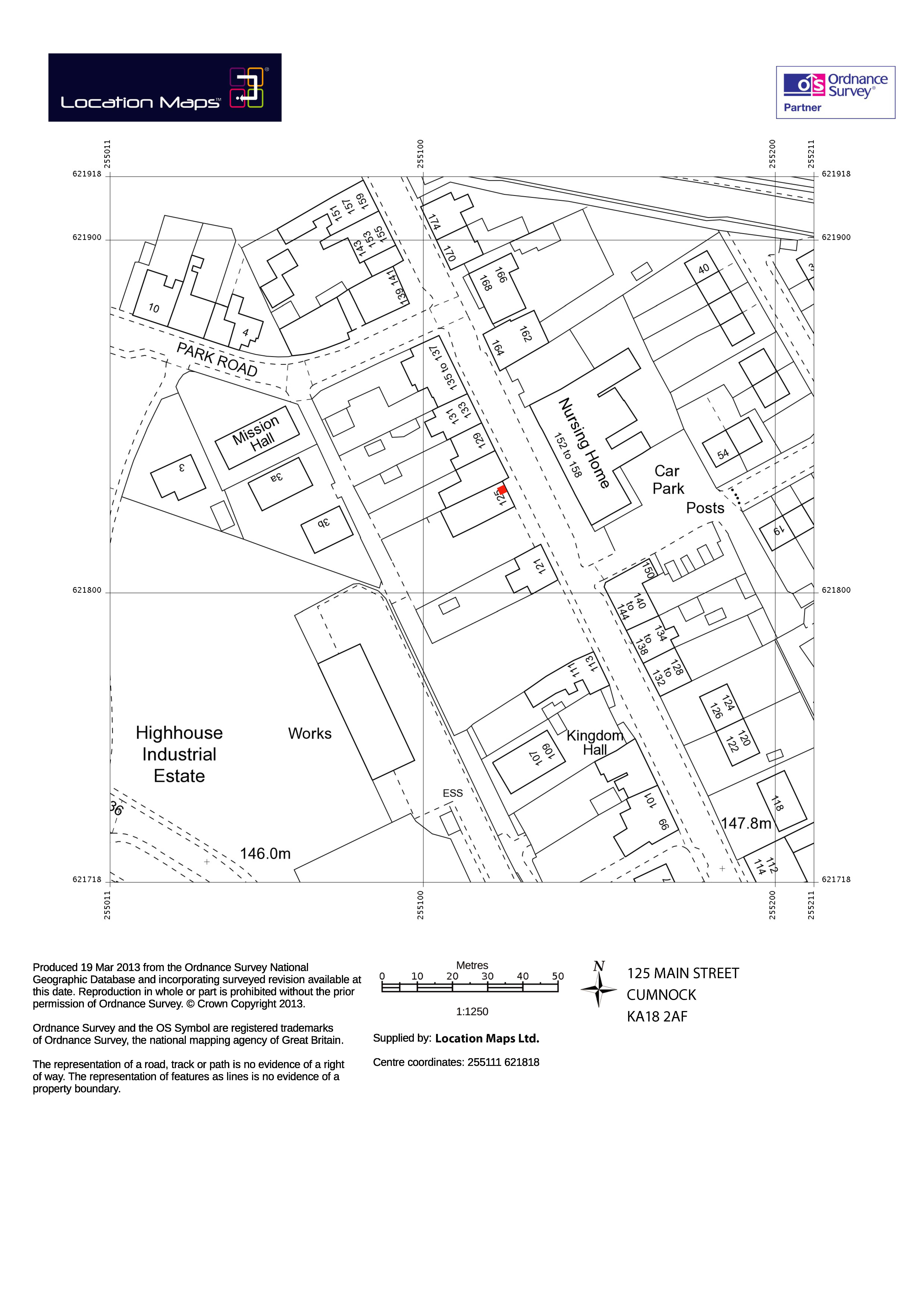Planning Map Service For Planning Application Proposals