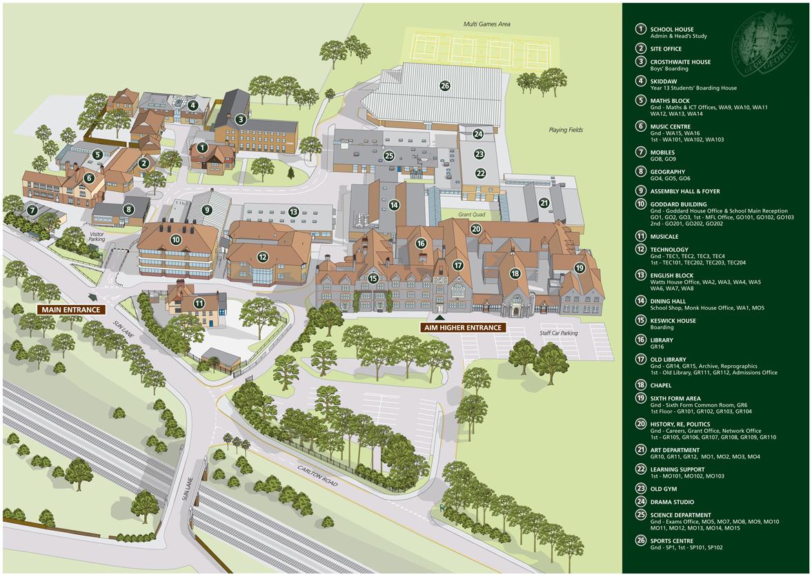 3D Contemporary Design Style Site Plan, 3D Site Plan