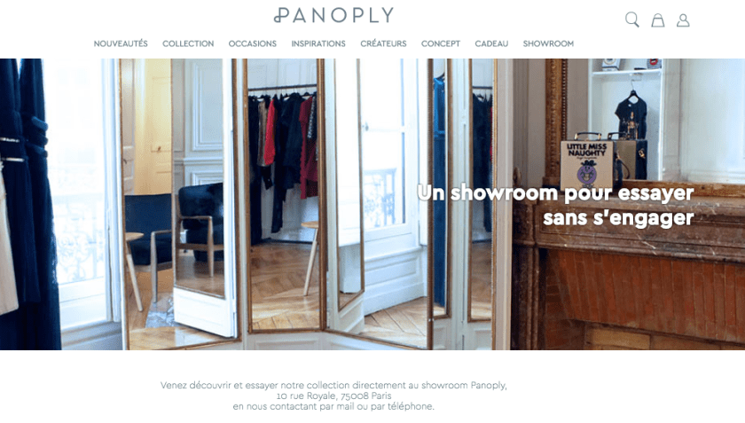 showroom panoply