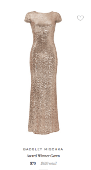 Badgley Mischka Rent The Runway