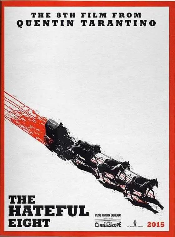The Hateful Eight locandina film
