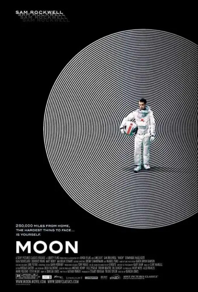 Moon (2009) locandina film