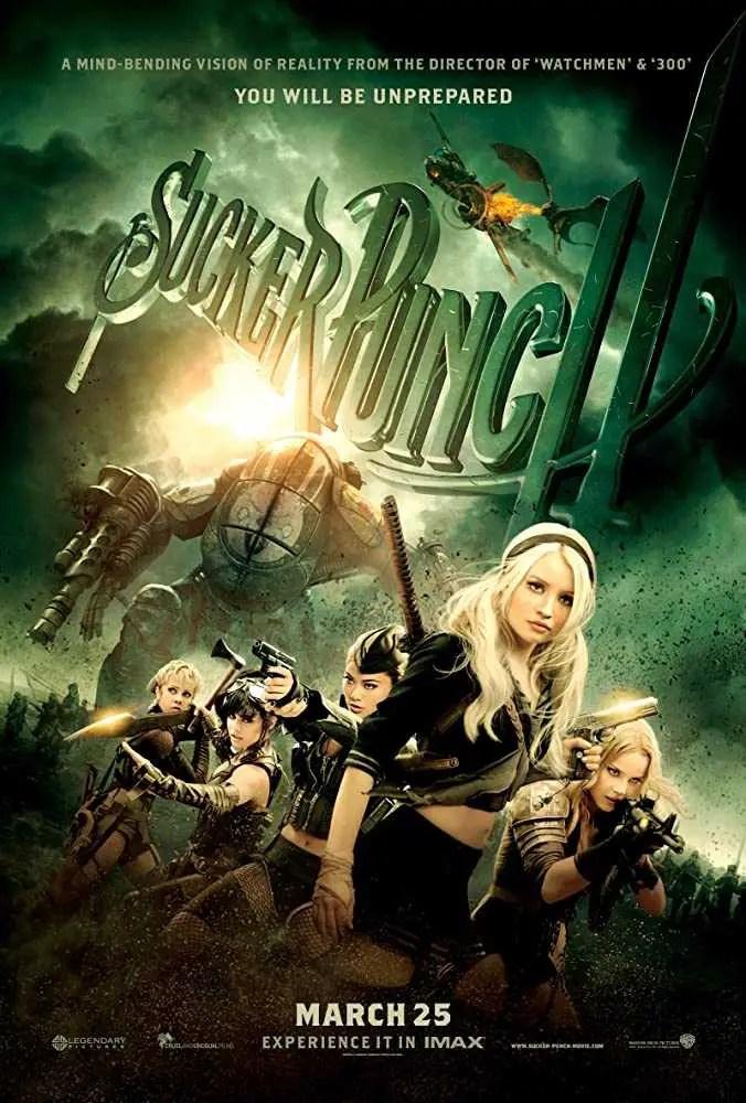 Sucker Punch (2011) locandina