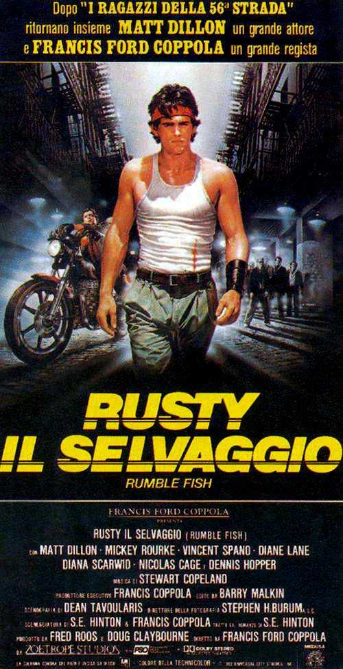 Rusty - Il Selvaggio (1983) Francis Ford Coppola