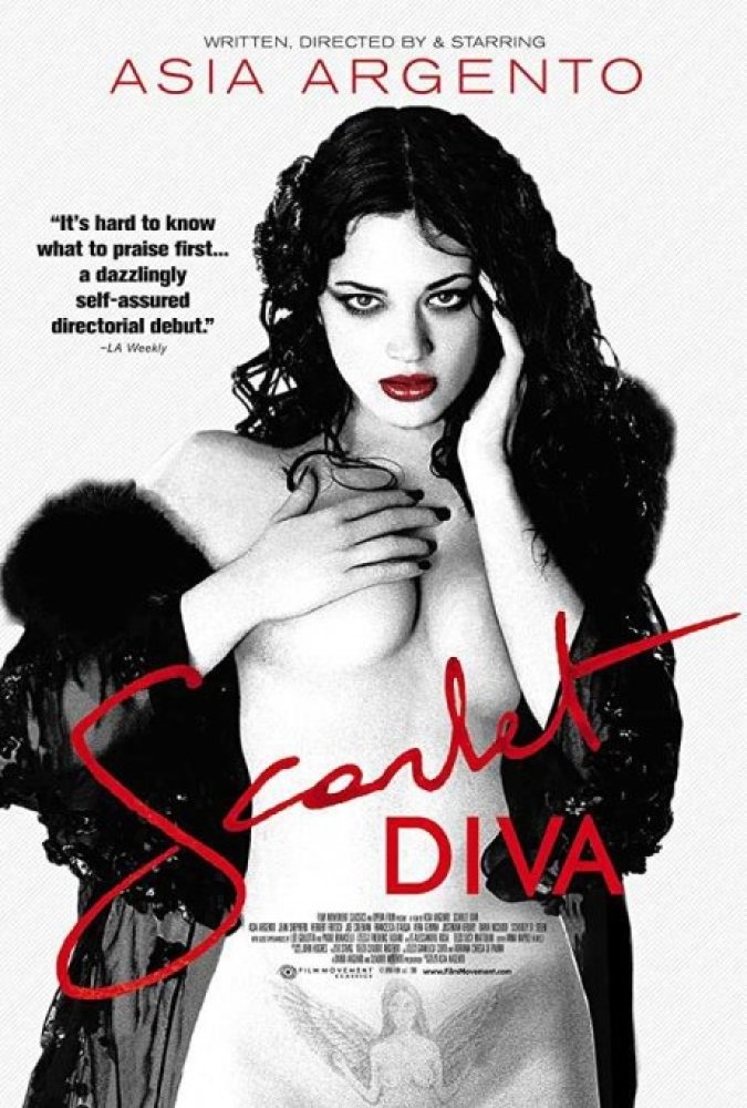 scarlet diva locandina film