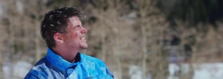 Josh Hartnett l'ultima discesa neve bosco