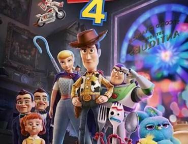locandina toy story 4 pixar