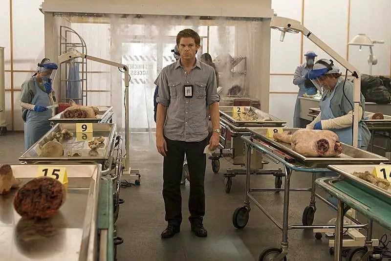 Michael C. Hall as Dexter Morgan in Dexter (Season 2, episode 3) - Photo: Peter Iovino