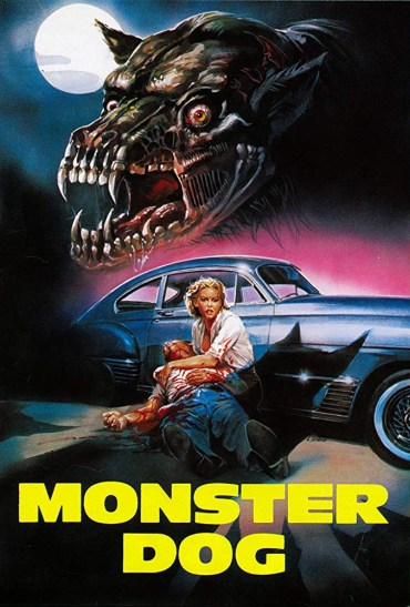 monster dog poster locandina