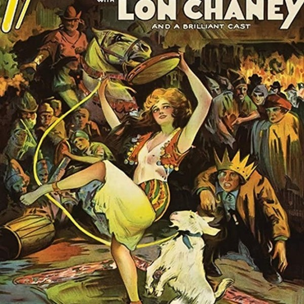 poster iul gobbo di notre dame 1923