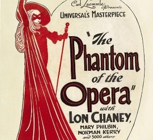 il fantasma dell'opera 1925 poster locandina