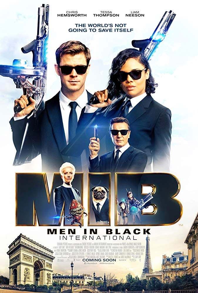 Men in black international poster locandina